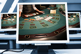 electronic blackjack odds